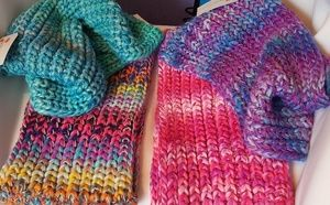 🚨🚨🚨Set of 4 Knit Infinity Scarves Scarf